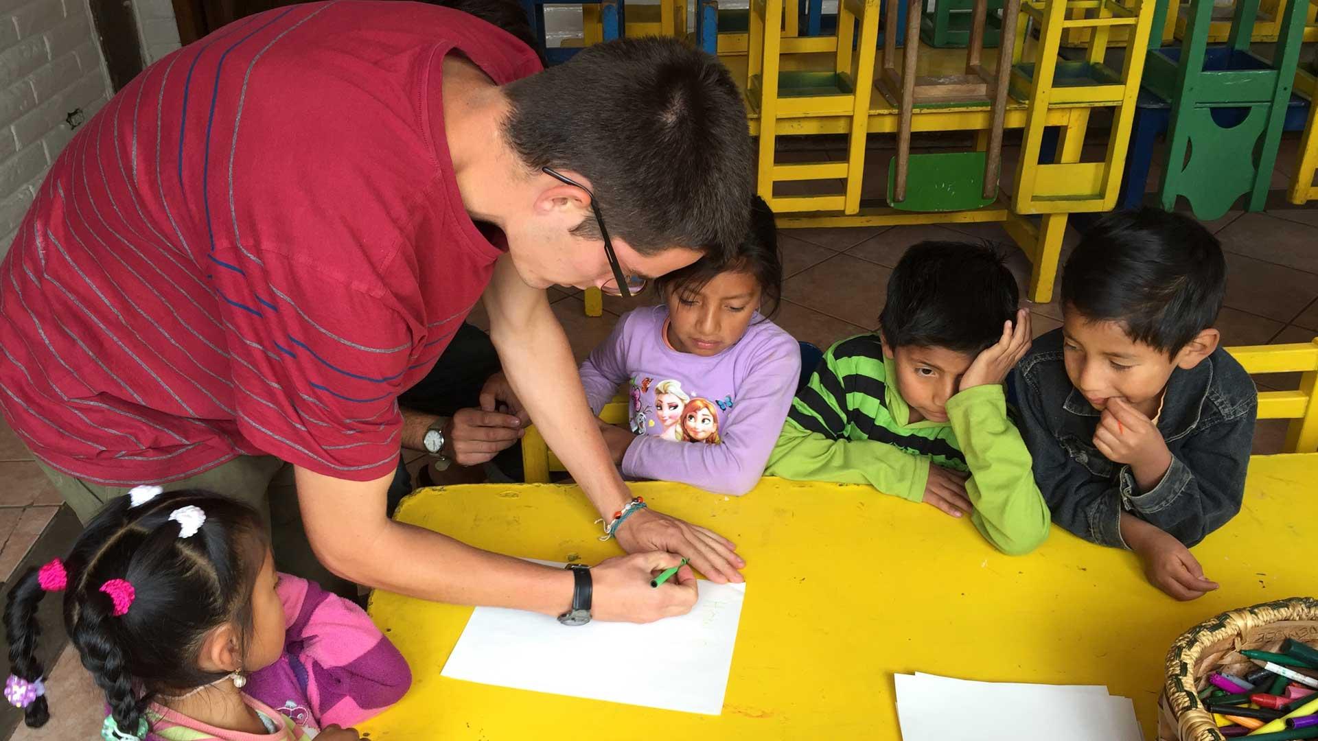 Clases de inglés en la Isla San Cristóbal
