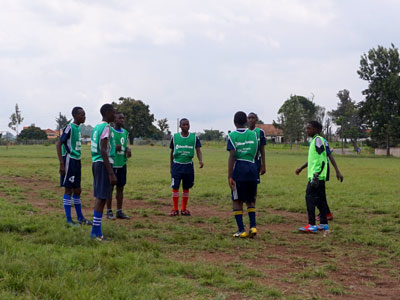 Sports Program in Uganda