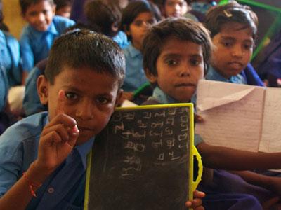 Educación a Niños con Discapacidad en la India